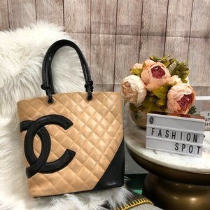Chanel Cambon Lamb Quilted Bag